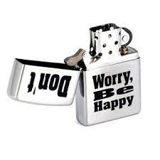 <b>Зажигалка Zippo</b> 200 <b>Don</b>'<b>t worry</b>