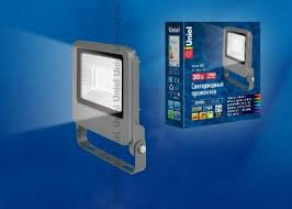 <b>Прожектор Uniel</b> ULF-F17-20W/NW IP65 195-240В SILVER 4000K ...