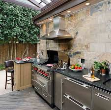 kitchen floor tiles small space: modern minimalist outdoor kitchen ideas for small space dark mosaic countertop stainless alluminium kitchen cabinets