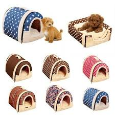 Dog Supplies Pet Dog <b>Cat House</b> Cave Warm Soft Bed <b>Cushion</b> ...