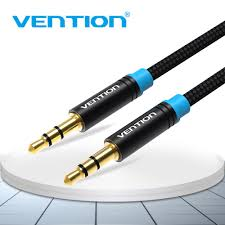 Vention <b>Aux</b> Cable <b>3.5mm</b> Audio Cable <b>3.5 mm</b> Jack Male To Male ...