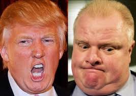 Image result for rob ford, donald trump