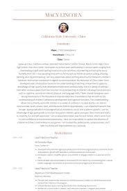 preschool teacher resume samples   visualcv resume samples databaselead preschool teacher resume samples