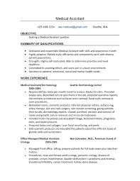 medical assistant resume experience experience resumes medical assistant resume experience