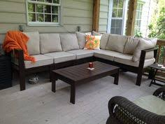 Outdoor Sectional With Coffee Table  Do It Yourself Home Projects From Ana White