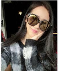 2017 <b>Vintage Big Round</b> Frame Woman Sunglasses High Quality ...