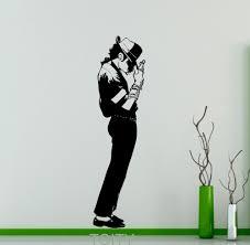 art decor home pop interior michael jackson wall sticker king of pop star vinyl decal art decor mu