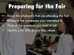how to work a career fair by mrsgardley preparing for the fair