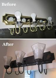 a farewell to cant how to update builder brass light fixtures on the cheap cheap vanity lighting