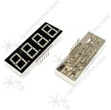 <b>4pcs 0.56</b>'' <b>7</b>-<b>Segment</b> LED Display with 4 Digits - CC | Open ...