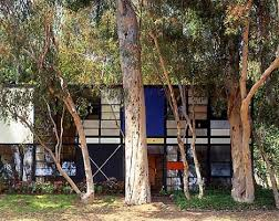 Midcentury Modern  Los Angeles Style       Conserving the     MidModMich     Eames House  Case Study House       by Kjmagnuson