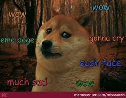 Sad Doge Is Sad by misssarah - Meme Center via Relatably.com