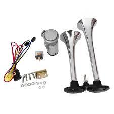 Car Air Horn Set <b>178db 12v</b> Super <b>Loud Dual</b> Tone Trumpet ...