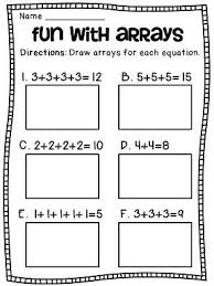 1000+ ideas about Repeated Addition on Pinterest | Multiplication ...Arrays Arrays Arrays: Big pack of arrays and repeated addition worksheets math centers and activities