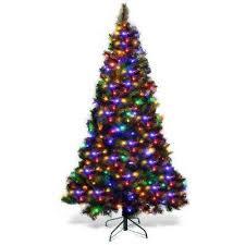 Multiple colors - <b>LED</b> - Pre-Lit Christmas Trees - Artificial Christmas ...