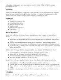 resume templates medical social worker social worker resume template