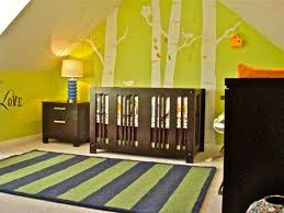 rustic themed attic baby boy nursery room design ideas with dark brown baby crib and drawers baby nursery nursery furniture cool