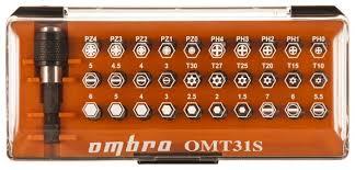 <b>Набор бит Ombra</b> OMT31S (31 предм.) — купить по выгодной ...