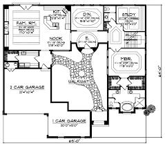 Italian Style House Plans   Plan   Main Floor Plan