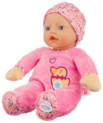 <b>Кукла Zapf</b> Creation <b>Baby</b> Born <b>Мягкая</b>, 30 см, 825-310 — купить по ...