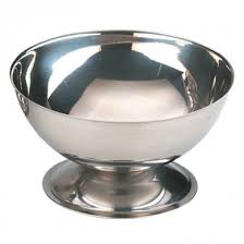 <b>Ice Cream</b> Sundae Cup - <b>Stainless Steel</b> (100mm Diameter)