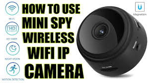 How to use <b>Mini</b> Spy IP <b>Camera Wireless</b> WiFi HD 1080P Hidden ...