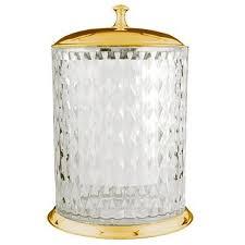 <b>Ведро для мусора Boheme</b> Chiaro 10518 золото купить за 26521 ...