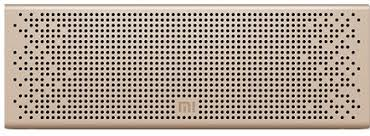 <b>Портативная колонка Xiaomi</b> Mi <b>Bluetooth</b> Loudspeaker золотая ...