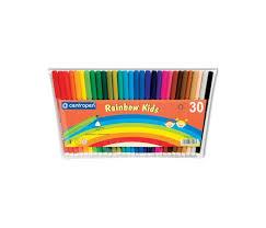 <b>Фломастеры Centropen</b> Набор <b>Rainbow Kids</b> 30 цветов ...