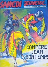 Samedi Jeunesse -145- Compère Jean Bontemps (Blason d\u0026#39;Argent) - BD - Couv_108107