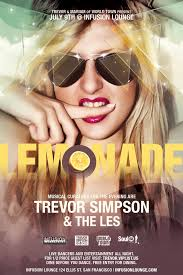 Trevor Simpson The Les. Trevor and Mariam of World Town Present LEMONADE - us-0709-274660-front