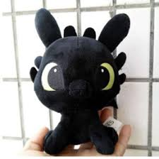 toothless dragon soft toy UK