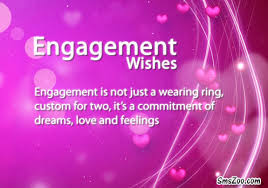 Engagement Wishes Text Messages - Engagement Quotes for newly couples via Relatably.com