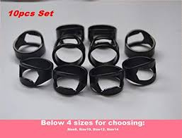 <b>10pcs</b> Set Black Color <b>Stainless Steel</b> Beer Ring <b>Bottle</b> Opener with ...