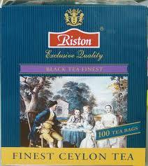 Купить <b>чай RISTON</b> finest ceylon <b>черный</b>+ ложка, 100 х 1,5г в ...