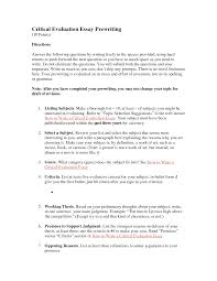 how to write an evaluation essay  opslipnodnsru writing evaluation essay types of validity in research methodsafter reading this post you will know how