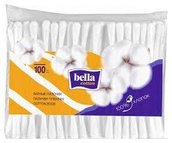 Купить <b>ватные палочки</b> Bella Cotton 100 шт, цены в Москве на ...