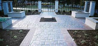 Pavimento Bianco Effetto Marmo : Pavimento cemento stampato effetto pietra irregolare