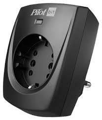 <b>Сетевой фильтр Pilot bit</b> GP, 1 розетка, с/з, 16А / 3500 Вт ...
