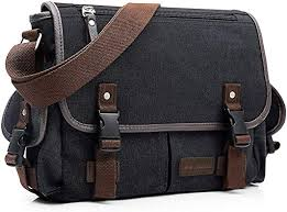 <b>Canvas</b> Shoulder Bag, Evaduol <b>Messenger</b> Bags <b>Mens</b>, Dark Grey ...