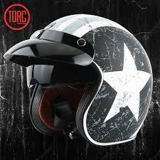 TORC Motorcycle Retro Helmet Men And Women Four Seasons ...