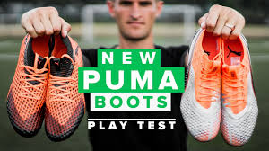 NEW <b>PUMA</b> FOOTBALL BOOTS - <b>Puma</b> Uprising <b>Play</b> Test with 7MLC