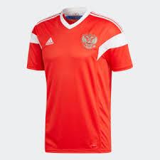 <b>adidas</b> Домашняя <b>игровая футболка</b> сборной России - красный ...