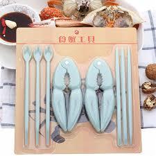 8Pcs/set <b>Walnut Nut Crackers Lobster</b> Crab Claw Cracker Shell ...