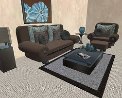 brown red living room ideas house