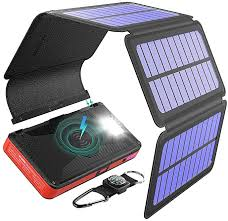 <b>Power</b> Bank, Wireless External Battery, 20000mAh <b>Solar Charger</b> ...