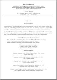 resume examples for servers info resume examples waitress waitress resume samples visualcv resume