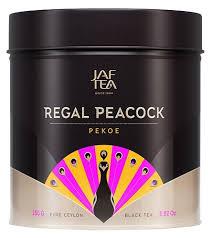 Чай черный <b>Jaf</b> Tea Regal peacock Pekoe <b>подарочный набор</b> ...