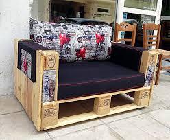 creative ideas furniture. pallet furniture ideas creative diy armchair colorful cushion