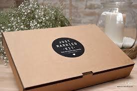 Подарочная упаковка <b>комплекта Just Married Kit</b>